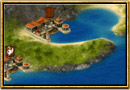 Captura de pantalla de Grepolis - Mapa